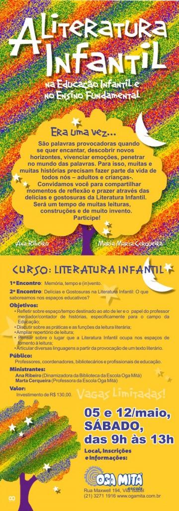 Curso A Literatura Infantil - Março 2012