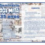 Convite -  Seminario Oga Mita Escola 35anos