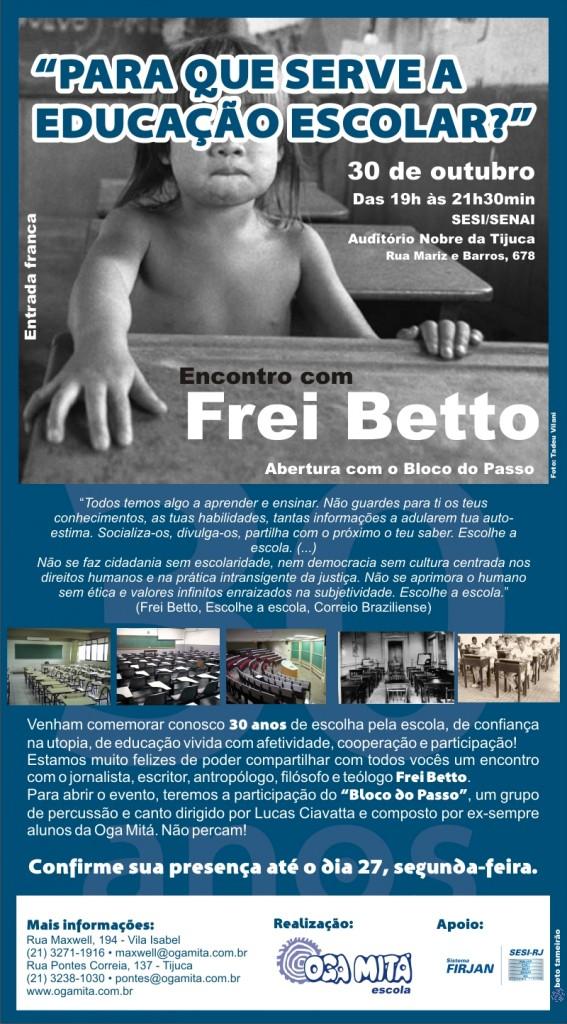 Encontro_Frei_Betto_OgaMita30anos