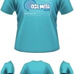 layout camp2015 Oga Mita - Camiseta verde campanha