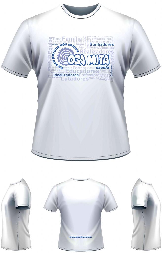 layout camp2015 Oga Mita - Camiseta vr3